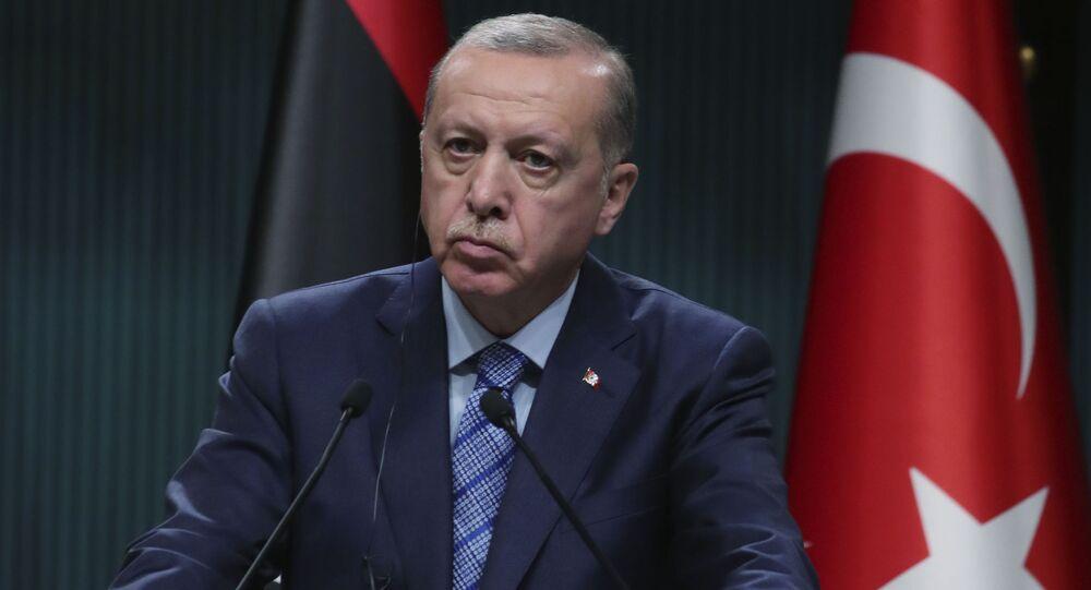 الرئيس التركي رجب طيب أردوغان، 4 يونيو 2020