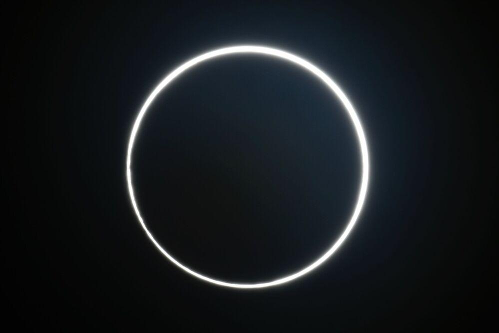 كسوف الشمس في وسط تايوان  21 يونيو 2020