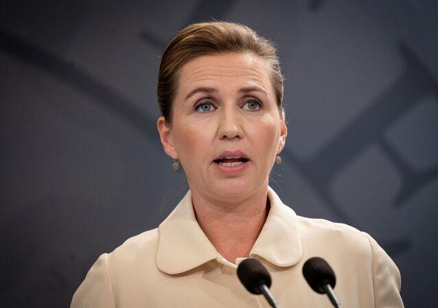 رئيسة وزراء الدنمارك ميت فريدريكسن