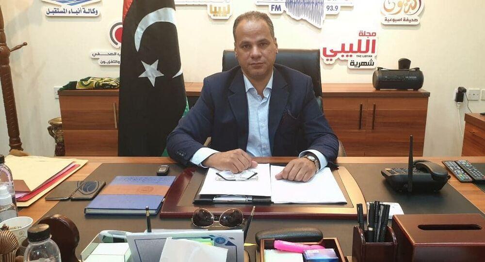 النائب الثاني لرئيس مجلس النواب الليبي أحميدة حومة