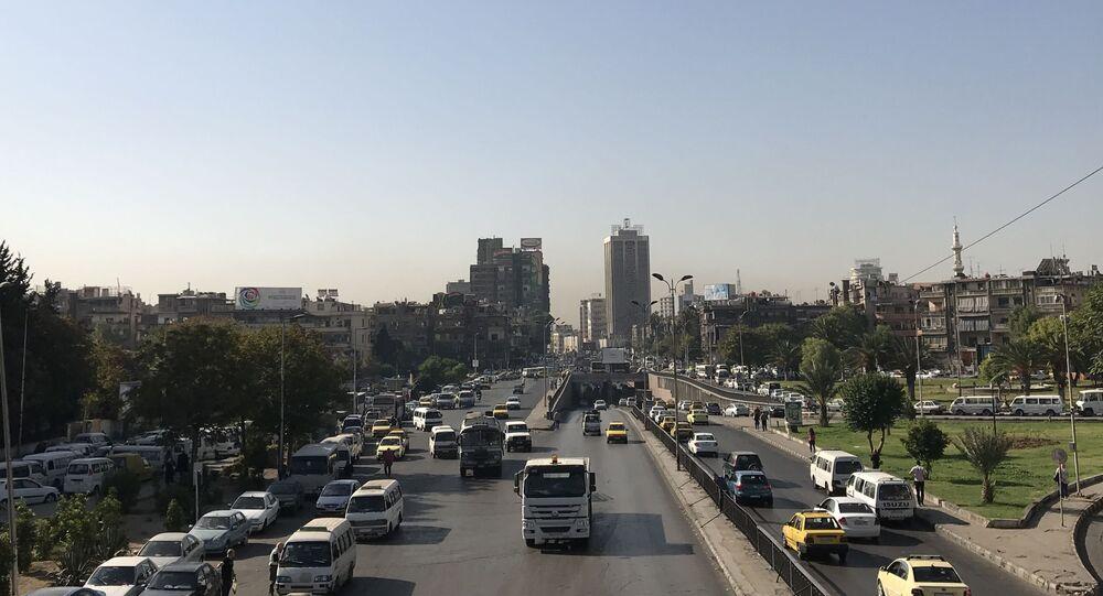 العاصمة السورية دمشق