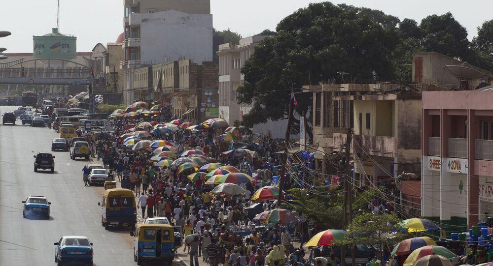 أحد شوارع عاصمة غينيا بيساو.