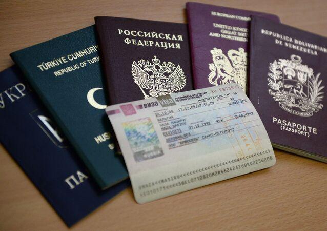تأشيرة روسية