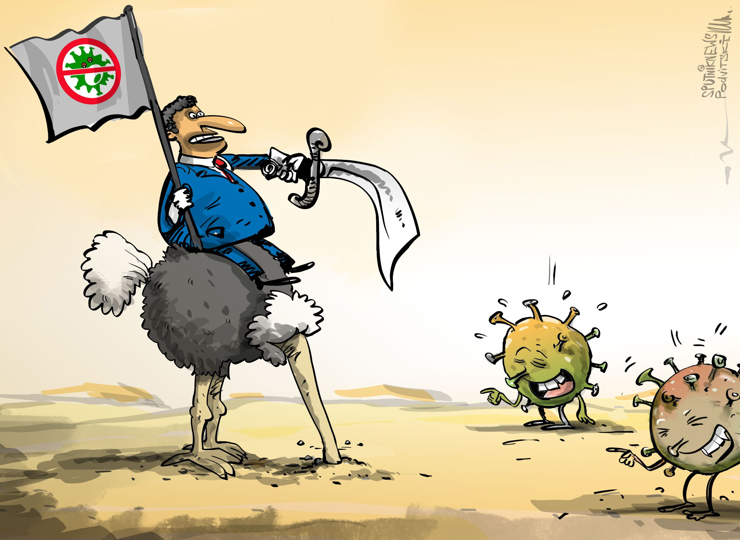 وزير عربي عن كورونا: نشف ومات