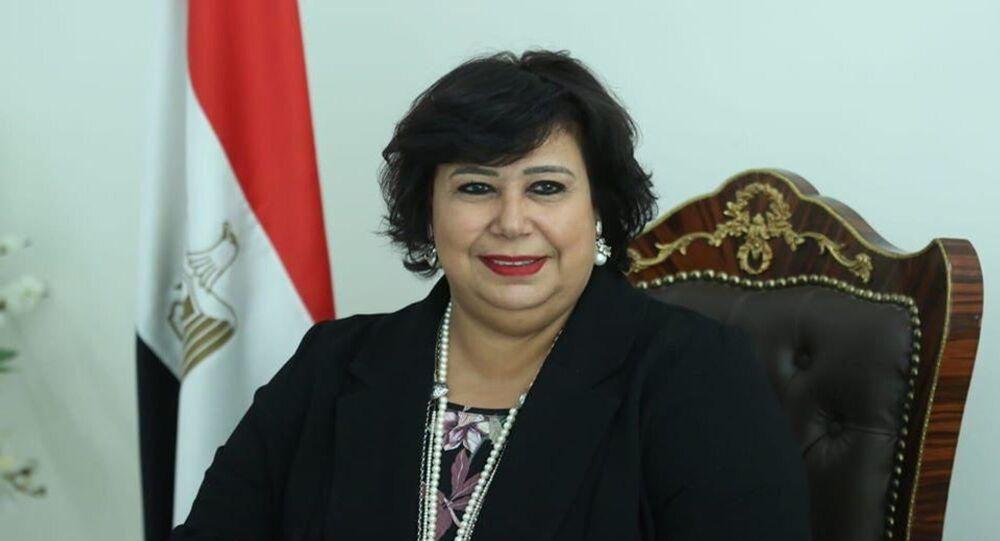 وزيرة الثقافة المصرية الدكتورة إيناس عبد الدايم