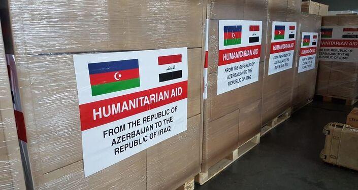 أذربيجان تقدم مساعدات إلى العراق لمواجهة فيروس كورونا