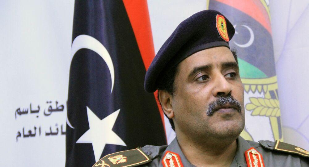 الناطق الرسمي باسم القائد العام للجيش الوطني الليبي اللواء أحمد المسماري