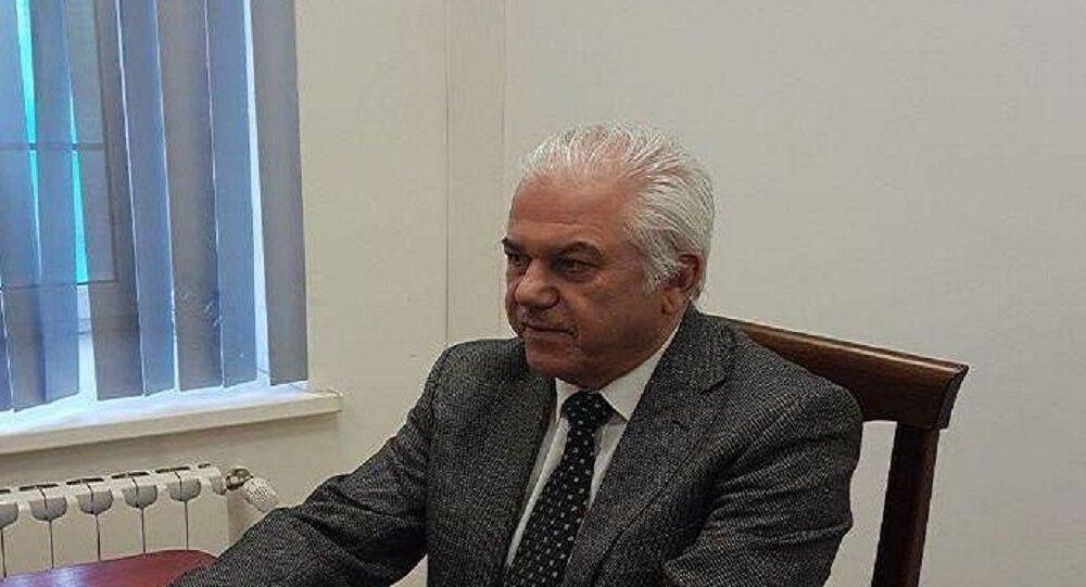 سفير جامعة الدول العربية لدى روسيا جابر حبيب جابر