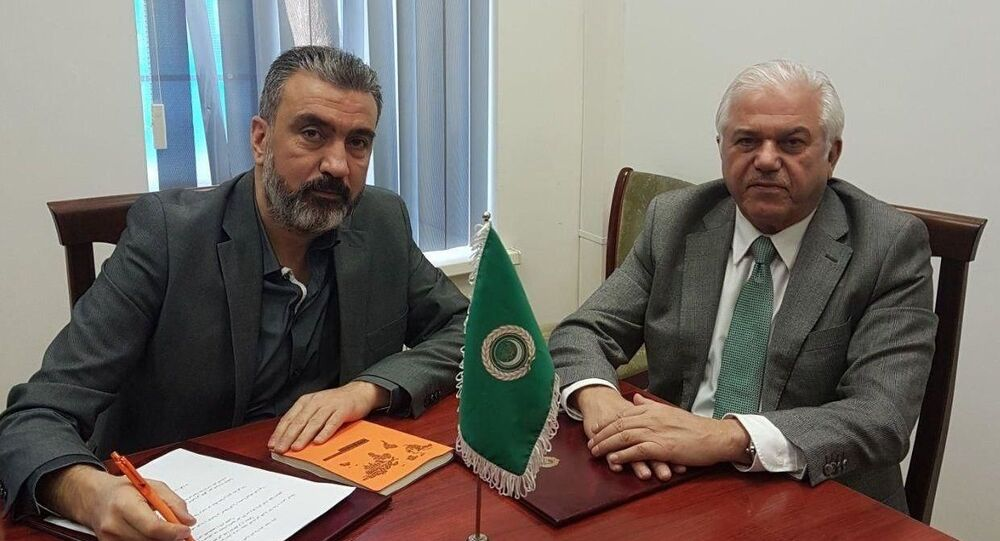 سفير جامعة الدول العربية لدى روسيا، جابر حبيب جابر