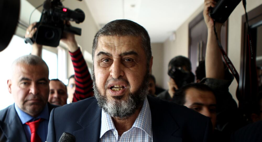 خيرت الشاطر القيادي في جماعة الإخوان المسلمين الإرهابية
