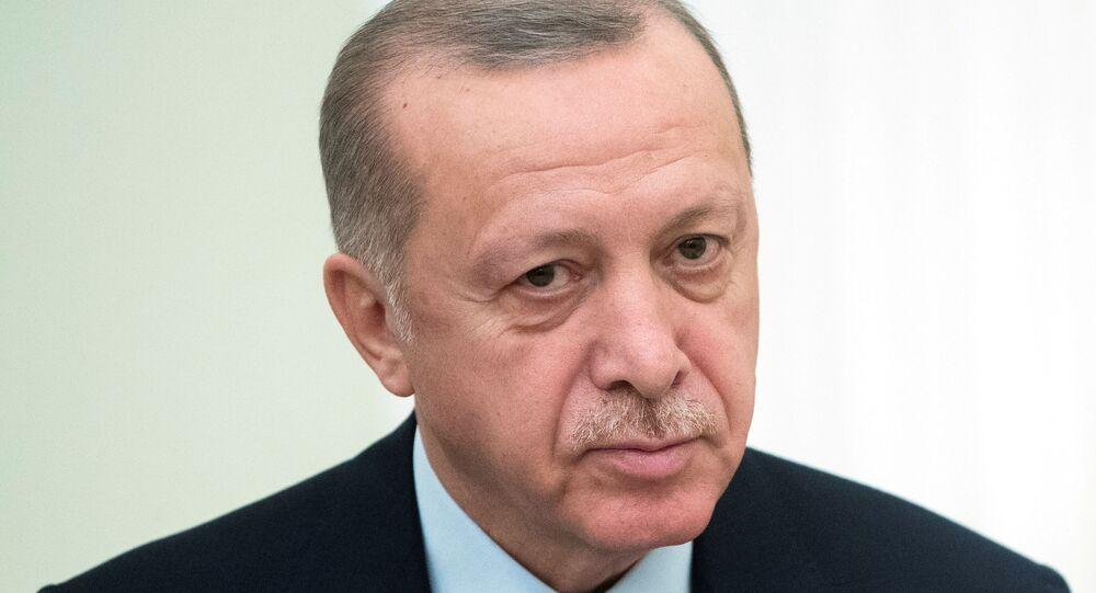 الرئيس التركي رجب طيب أردوغان،  يونيو 2020