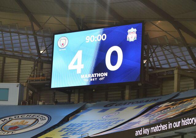 مانشستر سيتي يهزم ليفربول برباعية نظيفة