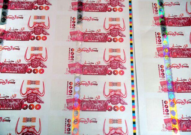 أوراق نقدية جزائرية