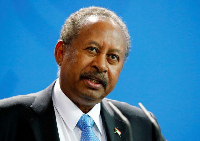 رئيس الوزراء السوداني عبد الله حمدوك، السودان 2020
