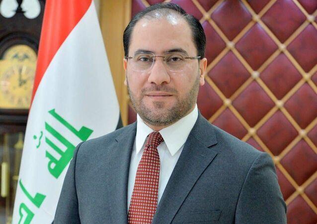 المتحدث الرسمي بإسم الخارجية العراقية، أحمد الصحاف