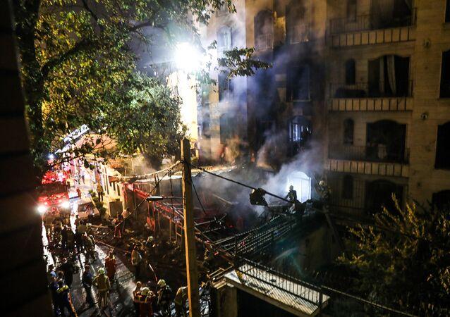 انفجارات وحرائق في إيران