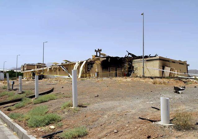 حادثة منشأة نطنز النووية في إيران