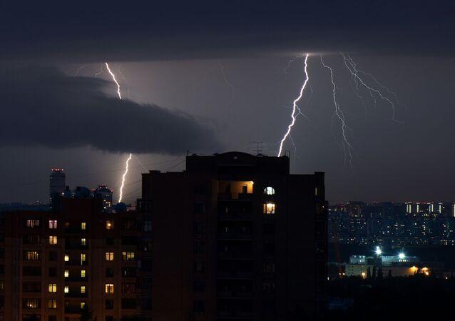 اعصار في روسيا