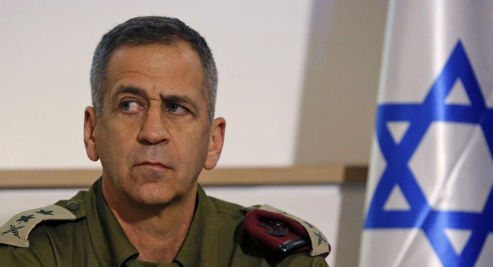 رئيس الأركان الإسرائيلي الجنرال أفيف كوخافي